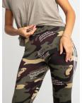 0903 Li Ruo Ya спортивные брюки женские камуфляжные на флисе (5 ед. размер: универсал 44-48) : артикул 1116184
