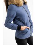6937-2 куртка голубая женская на синтепоне (6 ед. размеры: M.L.2XL/2.3XL.4XL): артикул 1124261
