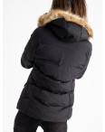6936-1 куртка черная женская на синтепоне (6 ед. размеры: M.L.2XL/2.3XL.4XL): артикул 1124256