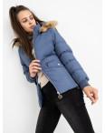 6936-2 куртка голубая женская на синтепоне (6 ед. размеры: M.L.2XL/2.3XL.4XL): артикул 1124257