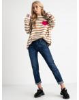 9017 OK&OK джинсы женские синие стрейчевые (6 ед. размеры: 25.26.27.28.29.30): артикул 1123462