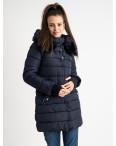 1089-1 синяя куртка женская на синтепоне (4 ед. размеры: M.L.XL.XXL): артикул 1124480