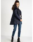 18806-2 синяя куртка женская на синтепоне (4 ед. размеры: M.L.XL.XXL): артикул 1124474