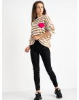 6040 New Jeans джогеры на флисе черные стрейчевые (6 ед.размеры: 25.26.27.28.29.30): артикул 1124595