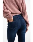 6020 New Jeans американка на флисе синяя стрейчевая (6 ед.размеры: 25.26.27.28.29.30): артикул 1124596