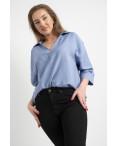 6035 New Jeans американка на флисе полубатальная черная  стрейчевая (6 ед.размеры: 28.29.30.31.32.33): артикул 1124607