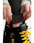 6034 New Jeans американка на флисе батальная черная стрейчевая (6 ед.размеры: 31.32.33.34.35.36): артикул 1124614
