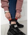 6022 New Jeans американка на флисе батальная синяя стрейчевая (6 ед.размеры: 31.32.33.34.35.36): артикул 1124611