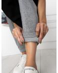 0011-6 серые спортивные штаны женские на флисе (6 ед.размеры: S.M.L.XL.XXL.3XL): артикул 1124652