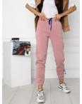 0010-2 розовые спортивные штаны женские на флисе (6 ед.размеры: S.M.L.XL.XXL.3XL): артикул 1124637