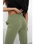 0010-4 хаки спортивные штаны женские на флисе (6 ед.размеры: S.M.L.XL.XXL.3XL): артикул 1124641