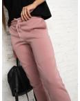0012-2 розовые спортивные штаны женские на флисе (6 ед.размеры: S.M.L.XL.XXL.3XL): артикул 1124648