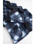 16116  мужская рубашка полубатальная на байке микс цветов (5 ед .размеры: 2XL.3XL.4XL.5XL.6XL): артикул 1124878