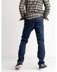 2142 Dsouaviet синие джинсы мужские на флисе стрейчевые  (8 ед. размеры: 29.30.31.32.33.34.36.38): артикул 1124934