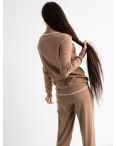 1610-5 M.K.Store мокко спортивный костюм женский (3 ед.размеры: универсал 44-48): артикул 1125235