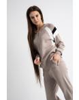 1602-4 M.K.Store бежевый спортивный костюм женский (3 ед.размеры: универсал 44-48): артикул 1125229