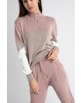 2105-2 M.K.Store розовый спортивный костюм женский (3 ед.размеры: универсал 44-48): артикул 1125263