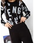 1608-1 M.K.Store черный спортивный костюм женский (3 ед.размеры: универсал 44-48): артикул 1125255
