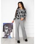 1608-2 M.K.Store серый спортивный костюм женский (3 ед.размеры: универсал 44-48): артикул 1125256