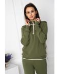 1610-3 M.K.Store зеленый спортивный костюм женский (3 ед.размеры: универсал 44-48): артикул 1125233