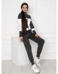 1601-1 M.K.Store темно-серый спортивный костюм женский (3 ед.размеры: универсал 44-48): артикул 1125248