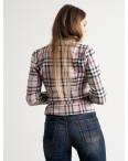 9911 бежевый пиджак в клетку женский ( 5 ед.размеры: 42-46 ): артикул 1125201