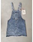 2964-2 Xray сарафан джинсовый синий весенний коттоновый  (34-40,евро, 6 ед.): артикул 1106937