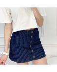 0200-6 Defile юбка на пуговицах синяя котоновая (6 ед. размеры: 34.36.36.38.38.40): артикул 1120211
