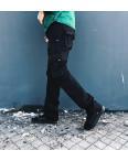 Джинсы карго карманы мужские ( 9079-1 черные Iteno ): артикул 1088633