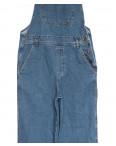 3492 комбинезон джинсовый женский синий осенний коттоновый (XS-L, 6 ед.): артикул 1111352