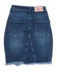 0803 Redmoon юбка джинсовая с рванкой синяя осенняя коттоновая (25-30, 6 ед.): артикул 1111386