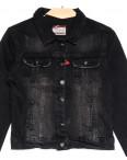 0643 черная Redmoon куртка джинсовая женская c царапками стрейчевая (S-XL, 4 ед.): артикул 1111388