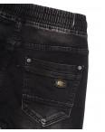 1528 Bagrbo джинсы мужские молодежные на резинке с царапками серые осенние стрейчевые (28-36, 8 ед.): артикул 1111449