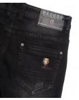 1523 Bagrbo джинсы мужские молодежные на резинке с царапками серые осенние стрейчевые (28-36, 8 ед.): артикул 1111450