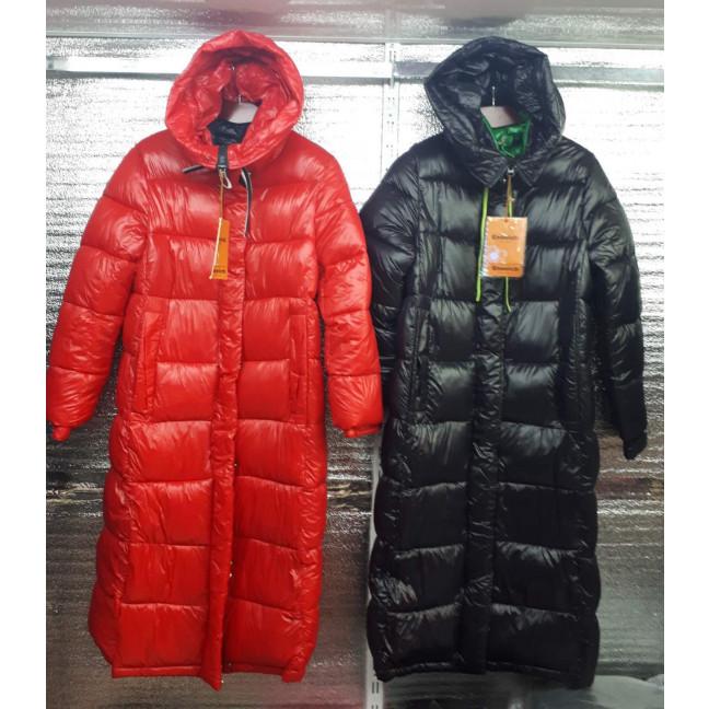 1912-2 черная куртка женская на синтепоне (4 ед. размеры: M.L.XL.2XL) Enovich: артикул 1117302