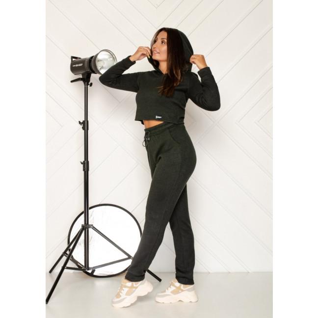 0545-3 хаки спортивный костюм женский из двунитки ( 5 ед. размеры: 46.48.50.52.54) Спортивный костюм: артикул 1118845