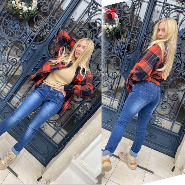 8137 X&D джинсы женские синие стрейчевые (6 ед. размеры: 25.26.27.28.29.30) X&D : артикул 1117299