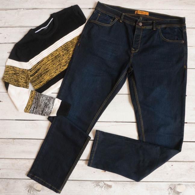 2004 Big&Grays джинсы мужские синие осенние стрейчевые (размер 38) Big&Grays: артикул 1115471