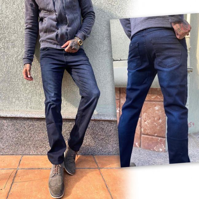 2019-21 Big&Grays джинсы мужские темно-синие осенние стрейчевые (30,31,32,34,36,38, 6 ед.) Big&Grays: артикул 1115588