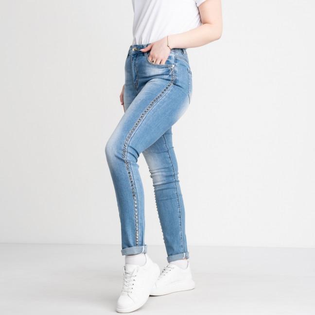 1279-4 Lady N джинсы женские батальные с декоративной отделкой стрейчевые (4 ед. размеры: 32.33.34.36) Lady N: артикул 1122693