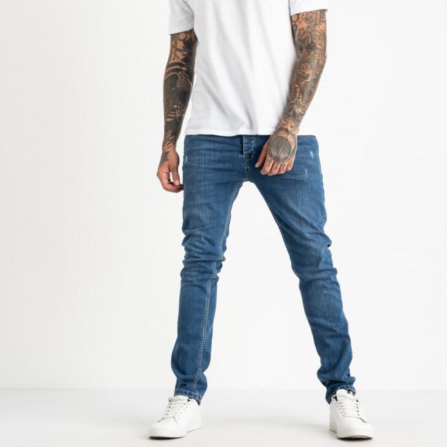 0554 Jack Kevin джинсы голубые мужские стрейчевые ( 8 ед. размеры: 30.31.32.33/2.34.36.38) Jack Kevin: артикул 1121915