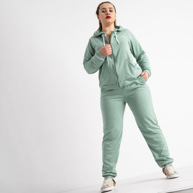 15111-8 полынь спортивный костюм батальный женский из двунитки (4 ед. размеры: 50.52.54.56) Спортивный костюм: артикул 1120458