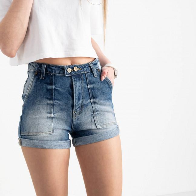 6663-5 Relucky шорты джинсовые голубые стрейчевые (6 ед. размеры: 25.26.27.28.29.30) Relucky: артикул 1121718