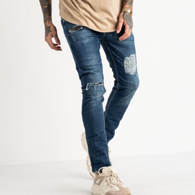2470 Quartz джинсы синие стрейчевые (8 ед. размеры: 29.30.31.32.32.33.34.36) Quartz: артикул 1118462