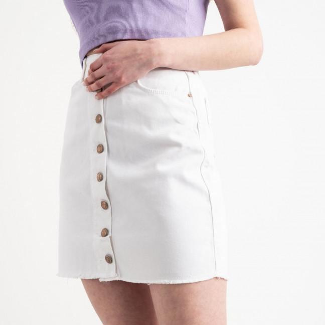 0002-810 Arox юбка на пуговицах белая котоновая (4 ед. размеры: 34.36.38.40) Arox: артикул 1118977-1