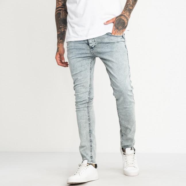 0558 Jack Kevin джинсы светло-голубые мужские стрейчевые ( 8 ед. размеры: 30.31.32.33/2.34.36.38) Jack Kevin: артикул 1121916