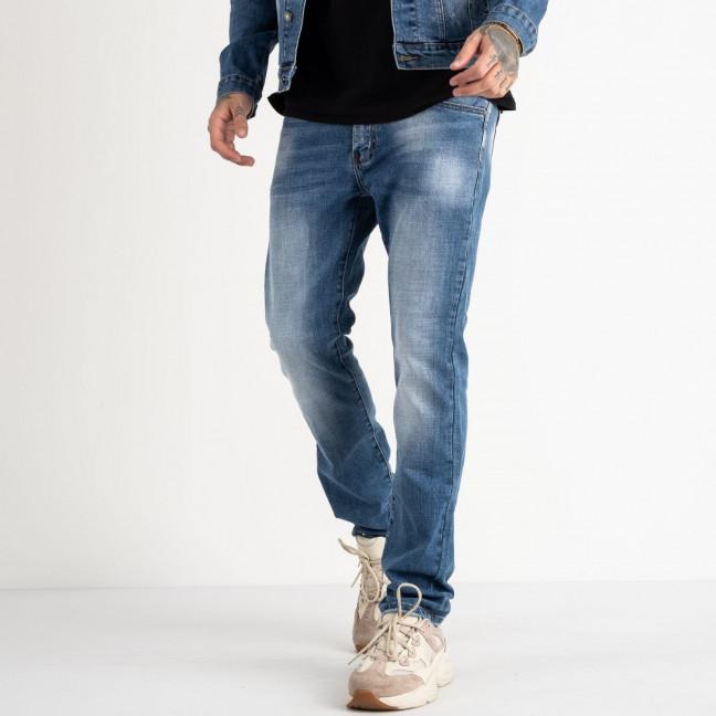 2079 Fang джинсы синие стрейчевые (8 ед. размеры: 30.31.32.33.34.35.36.38) Fang: артикул 1118357
