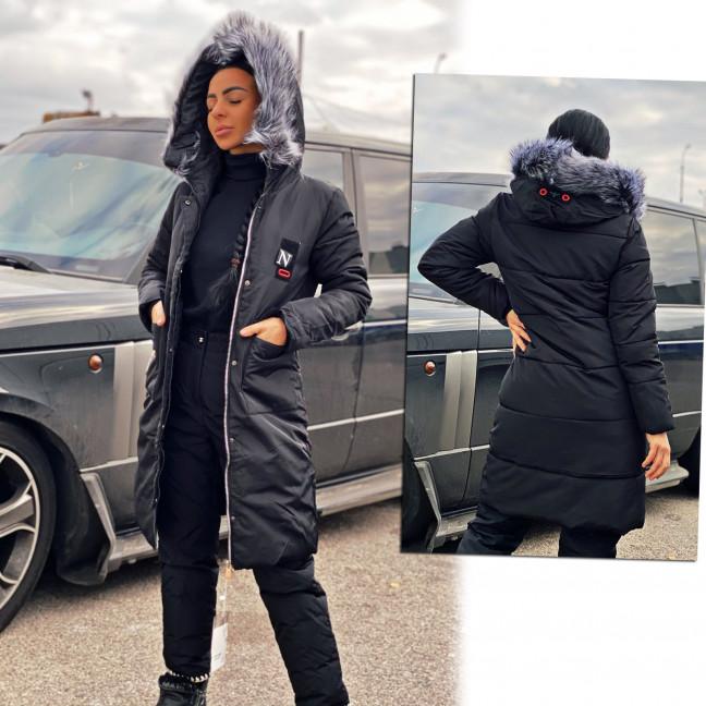 0807-1 черная куртка женская еврозима ( 3 ед.размеры: 2XL.2XL.3XL) Куртка: артикул 1116649