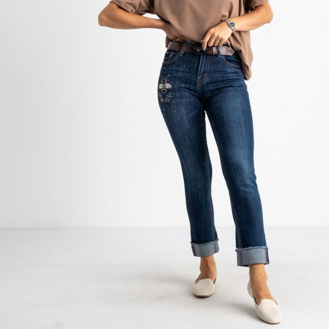 5002 OK&OK джинсы женские полубатальные синие стрейчевые (6 ед. размеры: 28.29.30.31.32.33) OKOK: артикул 1123454