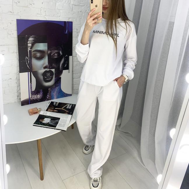7807-10 M&C спортивный костюм женский белый (3 ед. размеры: универсал S-L ) M&C: артикул 1122654